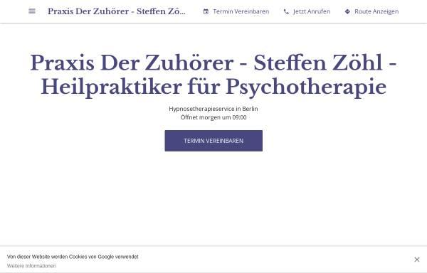 Vorschau von praxis-der-zuhoerer-steffen-zoehl.business.site, Der Zuhörer - Steffen Zöhl