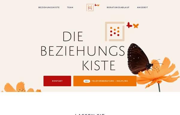 Vorschau von www.die-beziehungskiste.info, Die Beziehungskiste
