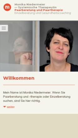 Vorschau der mobilen Webseite paarberatung-berlinzentrum.de, Monika Niedermeier