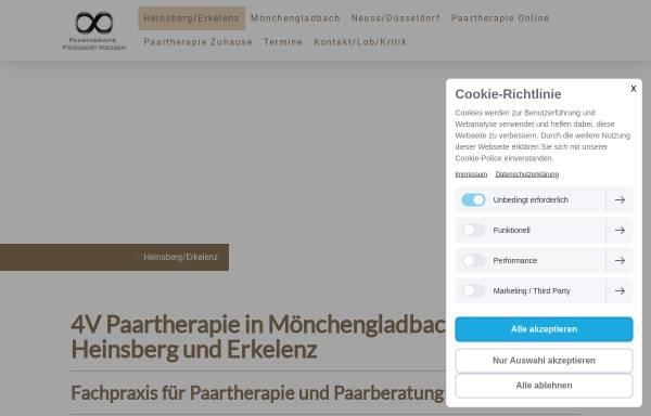 Vorschau von paartherapie-moenchengladbach-heinsberg.de, Paartherapie Schulte und Niessen