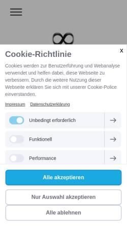 Vorschau der mobilen Webseite paartherapie-moenchengladbach-heinsberg.de, Paartherapie Schulte und Niessen