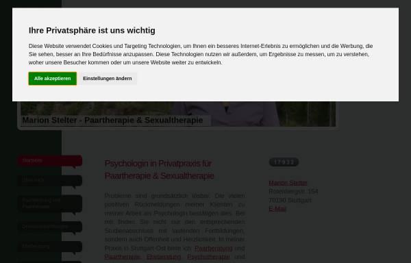 Vorschau von beziehungsmuster.de, Marion Stelter