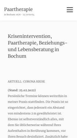 Vorschau der mobilen Webseite paarleben.de, Thomas Ontrup