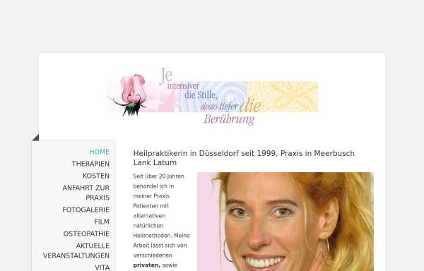 Vorschau von www.heilpraktiker-duesseldorf-oberkassel.de, Annette Gralke