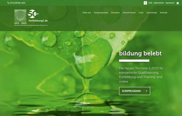 Vorschau von www.fortbildung1.de, Fortbildung1