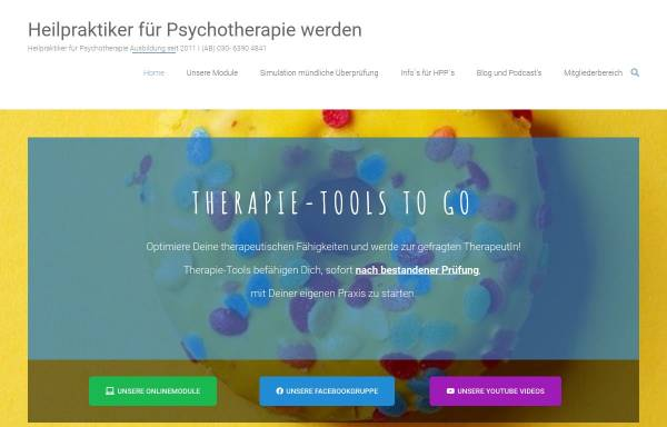 Vorschau von www.heilpraktiker-psychotherapie-werden.de, Dr. Dittmer Institut