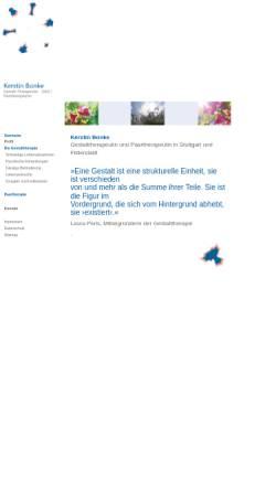 Vorschau der mobilen Webseite kerstin-bonke.de, Kerstin Bonke