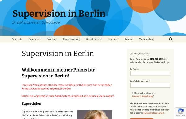 Vorschau von gestalttherapie-berlin-siegel.de, Dr. phil. Dipl.-Psych. Sylvia Siegel