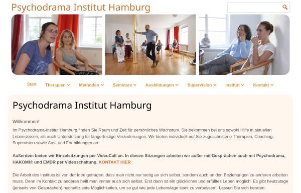 Vorschau von www.psychodrama-hamburg.de, Psychodrama Institut Hamburg