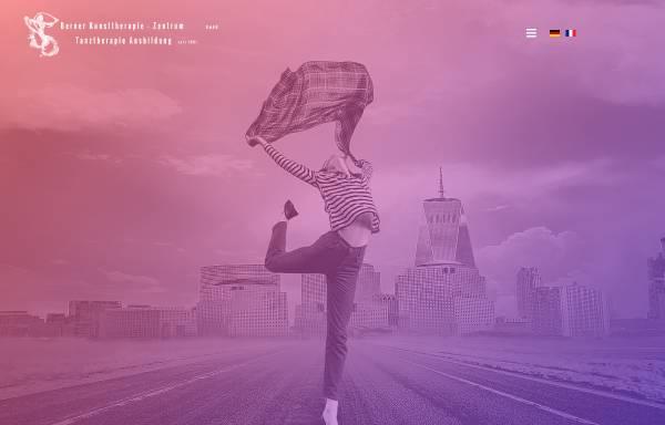 Vorschau von www.tanztherapie-zentrum.ch, Berner Zentrum für Aus- und Weiterbildung in Tanztherapie GmbH