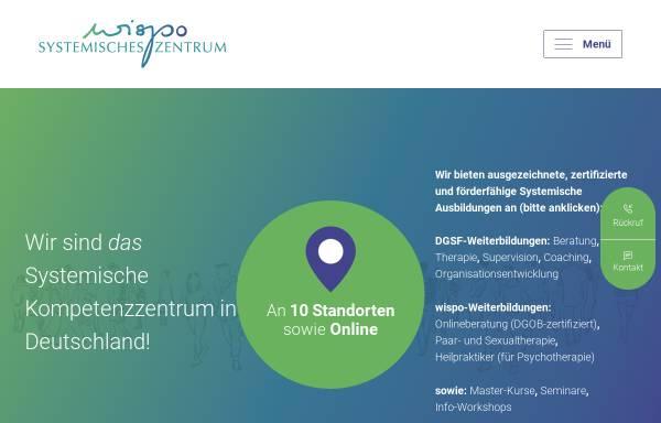 Vorschau von www.systemisches-zentrum.de, Systemisches Zentrum Wispo AG