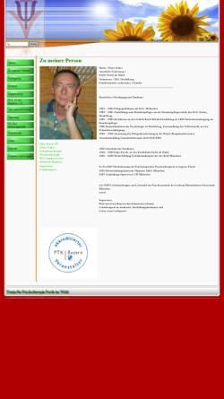 Vorschau der mobilen Webseite psychpraxzuber.de, Thore Zuber