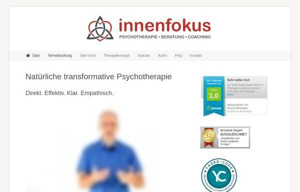 Vorschau von innenfokus.de, Praxis Innenfokus