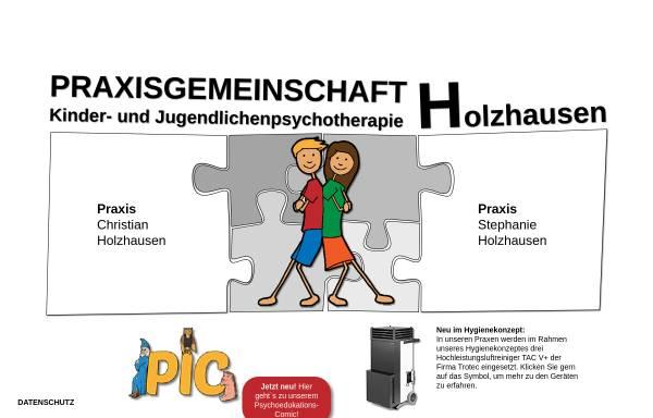 Vorschau von www.praxisholzhausen.de, Praxis Holzhausen - Praxis für Kinder- und Jugendlichenpsychotherapie