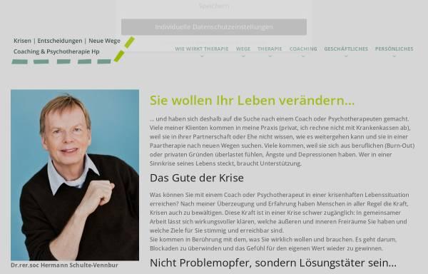 Vorschau von www.psychotherapie-praxis-hennef.de, Dr. Hermann Schulte-Vennbur