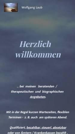 Vorschau der mobilen Webseite www.paarunderziehungsberatung.de, Paartherapie und Erziehungshilfe Kiel