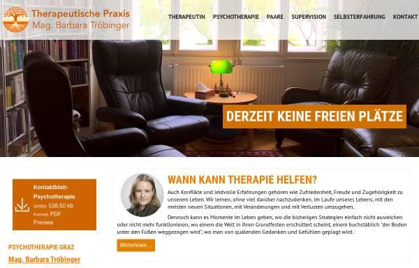 Vorschau von www.psychotherapeutin-graz.at, Praxis für Psychotherapie in Graz