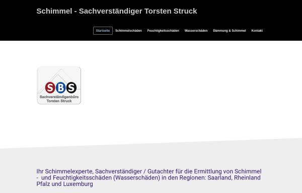 Vorschau von www.svb-struck.net, Sachverständigenbüro Torsten Struck