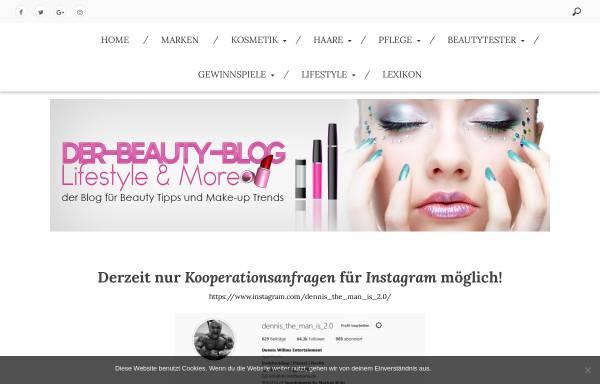 Vorschau von www.der-beauty-blog.de, Der Beauty Blog