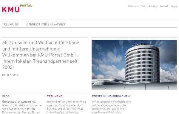 Vorschau von www.kmuportal.ch, KMU Portal Schweiz