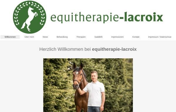 Vorschau von equitherapie-lacroix.de, Equitherapie Lacroix