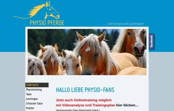 Vorschau von www.physio-pferde.at, Physio Pferde Verena Bachmann
