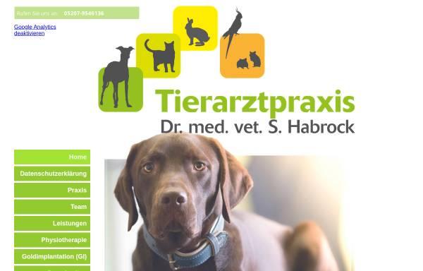 Vorschau von www.tierarztpraxis-habrock.de, Dr. med. vet. Silke Habrock