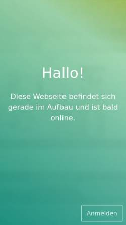 Vorschau der mobilen Webseite www.tierarzt-pritzel-potsdam.de, Tierarztpraxis für Hausbesuche Kerstin Pritzel