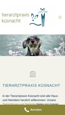 Vorschau der mobilen Webseite www.flyingdogtor.ch, Flyingdogtor - Hausbesuche vom Tierarzt