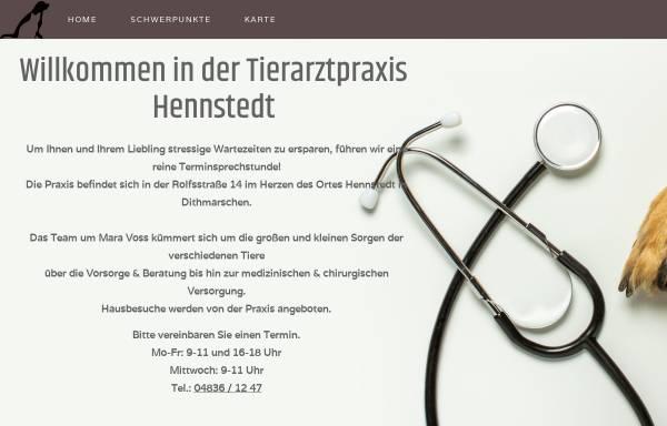 Vorschau von www.tierarzt-hennstedt.de, Tierarztpraxis Georg Hentscher