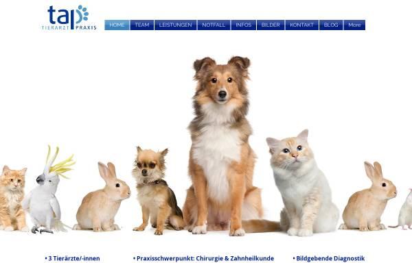 Vorschau von www.tap-neuerkirch.de, Tierarztpraxis Neuerkirch