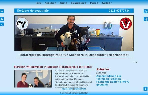 Vorschau von fachtierarztpraxis-duesseldorf.de, Tierarztpraxis Herzogstraße