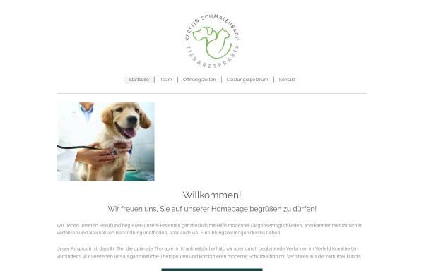 Vorschau von www.tierarztpraxis-bad-breisig.de, Tierarztpraxis Kerstin Schmalenbach