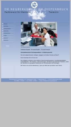 Vorschau der mobilen Webseite www.tierarzt-neuberger.de, Tierarzt Neuberger