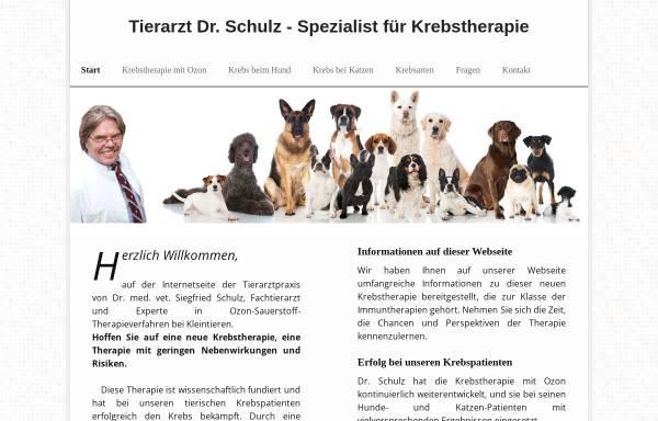 Vorschau von neuekrebstherapie-kleintierpraxis.de, Dr. med. vet. Siegfried Schulz