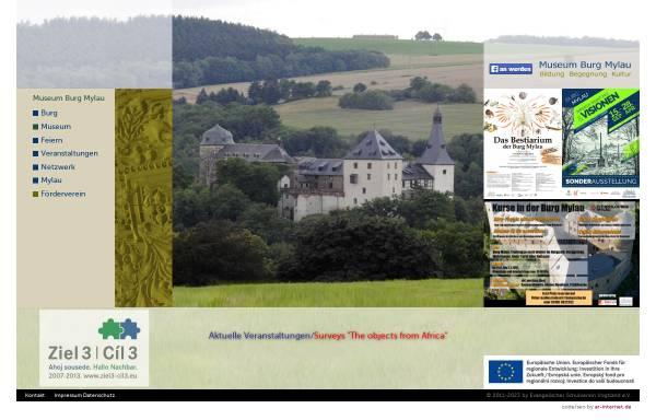 Vorschau von www.burgmylau.de, Burg Mylau (Vogtland)