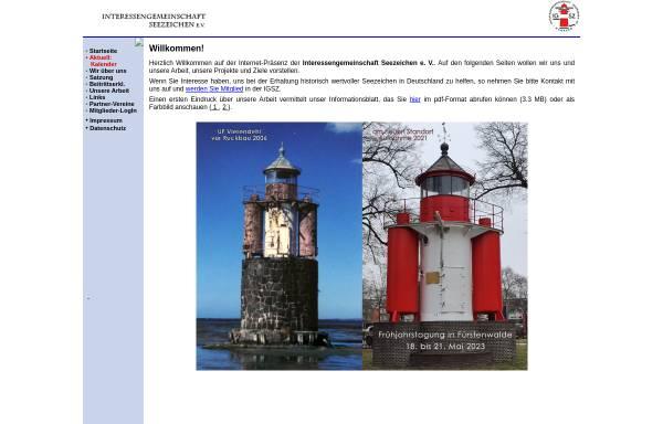 Vorschau von www.ig-seezeichen.de, Interessengemeinschaft Seezeichen