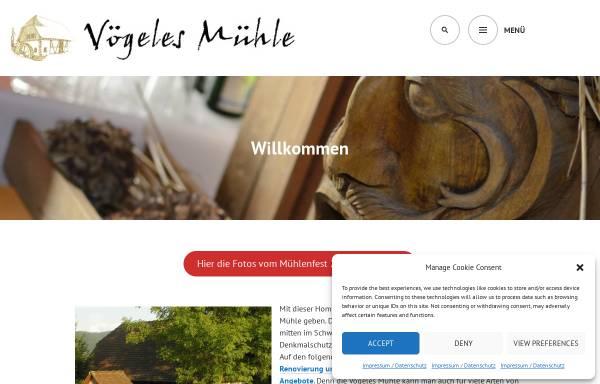 Vorschau von www.voegeles-muehle.de, Vögeles Mühle