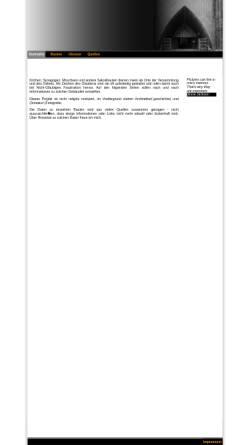 Vorschau der mobilen Webseite www.sakralbauten.de, Sakralbauten