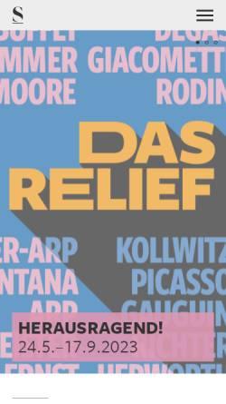 Vorschau der mobilen Webseite www.staedelmuseum.de, Restaurierung | Städel Museum