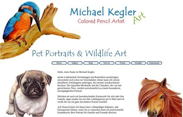 Vorschau von www.webboth.de, Pastell-, Bunt und Bleistiftzeichnungen von Michael Kegler