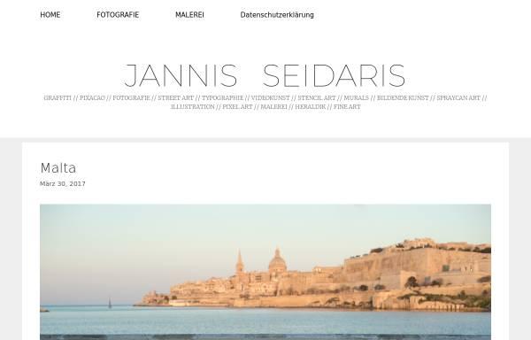 Vorschau von www.seidaris.de, Jannis Seidaris - Künstler