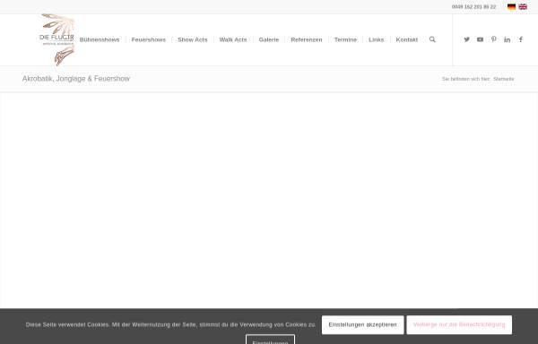 Vorschau von www.flugtraeumer.de, Die Flugträumer
