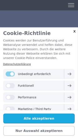 Vorschau der mobilen Webseite www.audrey-werle.de, Audrey Werle