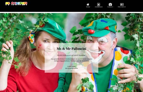 Vorschau von www.mr-palloncini.ch, Mr Palloncini