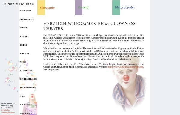 Vorschau von www.clowness.de, Glucks