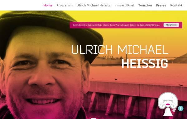 Vorschau von www.irmgardknef.de, Ulrich Michael Heissig