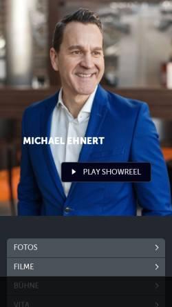 Vorschau der mobilen Webseite www.michael-ehnert.com, Ehnert, Michael