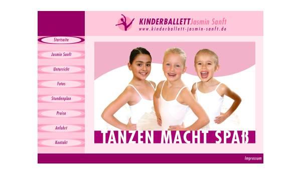 Vorschau von www.kinderballett-jasmin-kugler.de, Kinderballett Jasmin Kugler