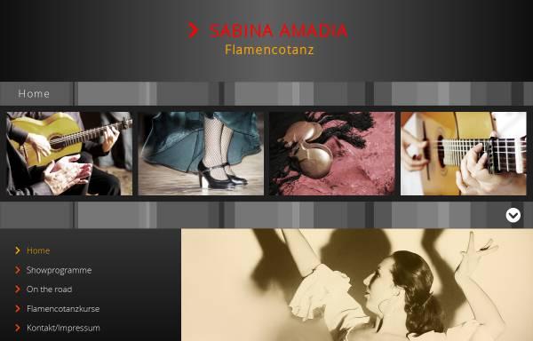 Vorschau von www.amadia.de, Sabina Amadia